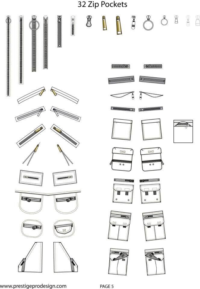 transformación de bolsillo y detalles de construcción