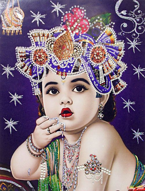 i think this is little Krishna..