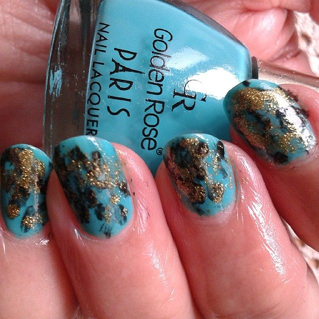 Golden Rose 222 nail polish
