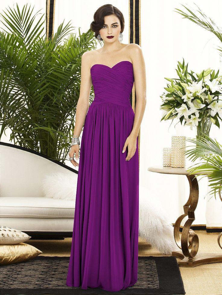 Asombroso Damas De Honor De Vestir El Infinito Colección - Vestido ...