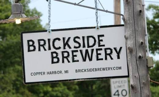 Brickside Brewery located in Copper Harbor, MI