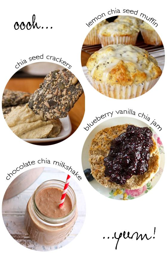 Four Great Chia Seed Recipes - Fuel for Doing Good! | Little Green Dot