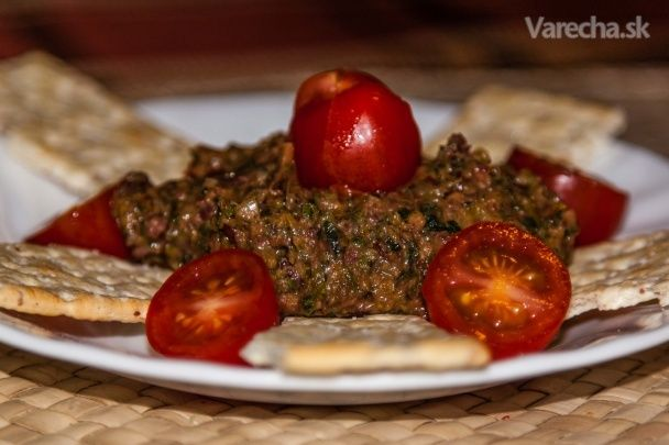 Dip z fazule a zelených listov - Recept
