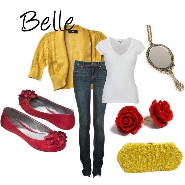 Fictional Fashion: Belle
