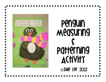 TPT: FREEBIE Penguin Measuring and Patterning Activity