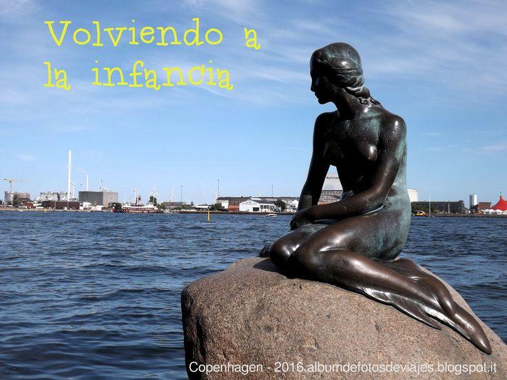 La tan conocida Sirenita de Copenhagen (Den Lille Havfrue)
