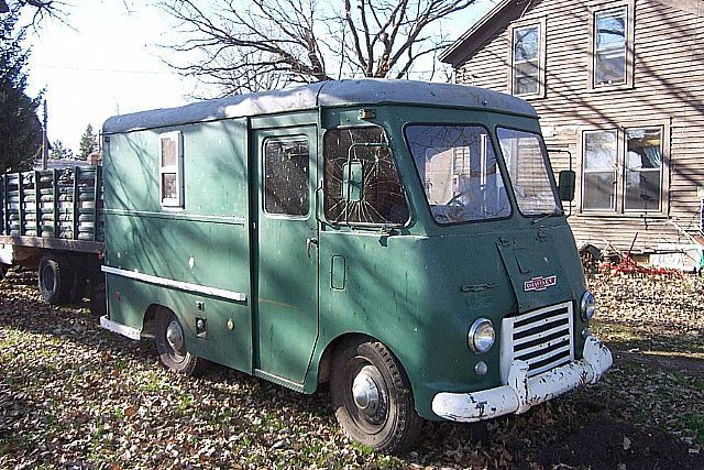 10 best ideas for our 1957 chevy stepvan images on pinterest step van shop truck and. Black Bedroom Furniture Sets. Home Design Ideas