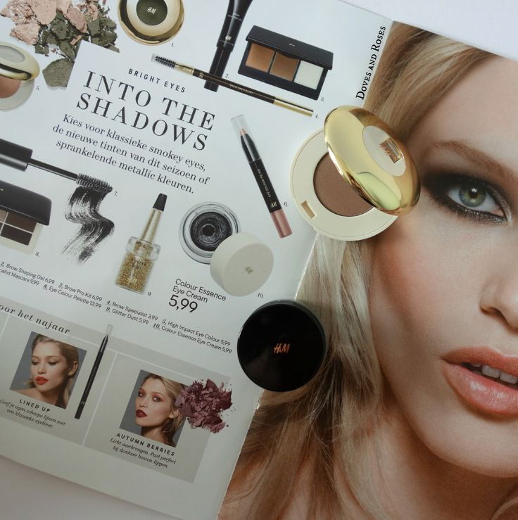 Bronze Shiitake: H&M High Impact Eye Colour / Bronzen oogschaduw in Shiitake van de nieuwe H&M Beauty collectie.