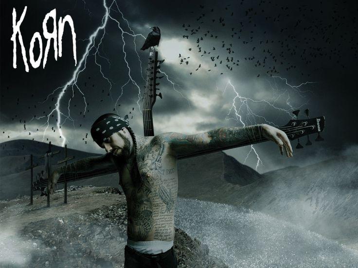 ギターに磔のKorn