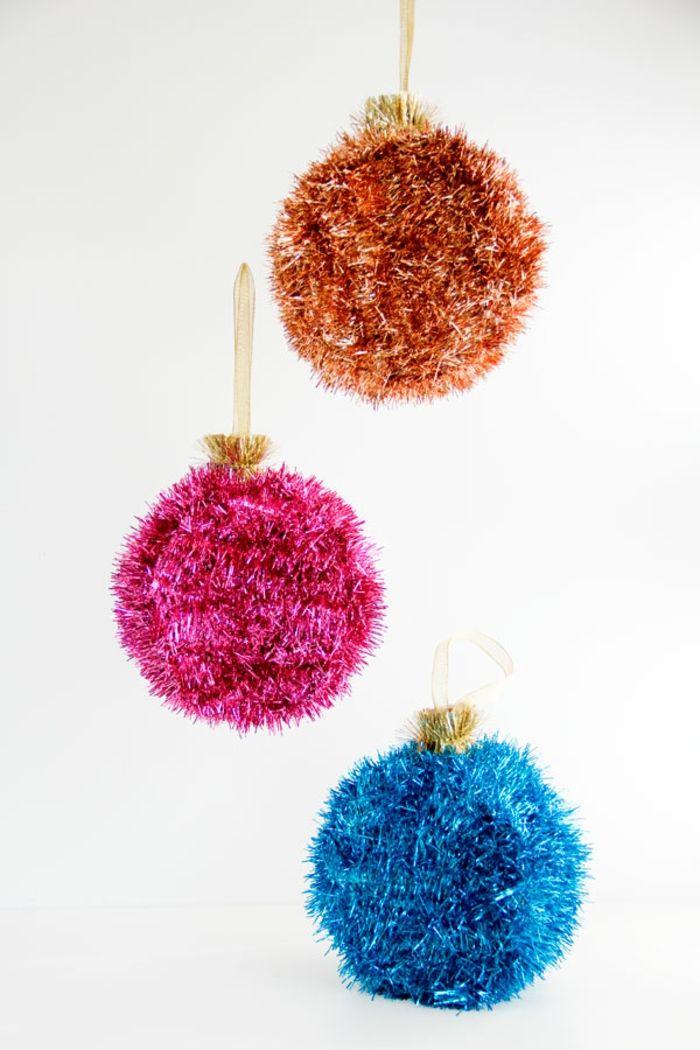 1001 Ideas De Bolas De Navidad Hechas A Mano época Decembrina
