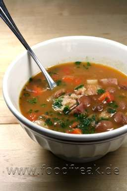 Serbo-Croatian Bean Stew. Where to Trohas are from...might be good to make this sometime