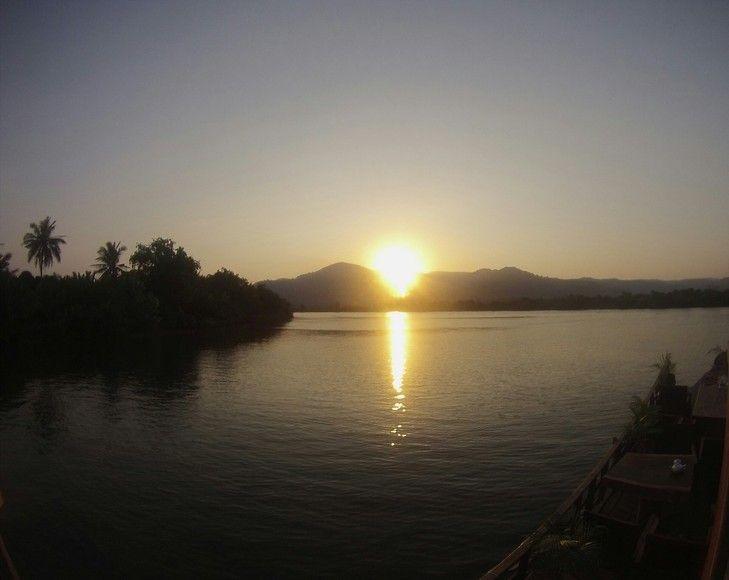 Sunset Kampot