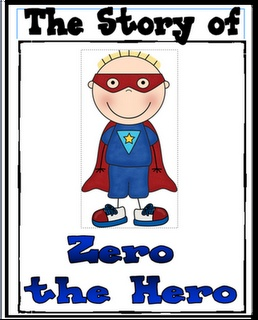 Does Zero the Hero make an appearance in your room?  Here's a free book to help introduce him to your class.
