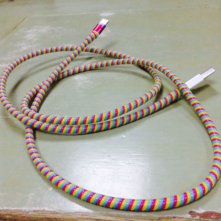 Colorful cord protector