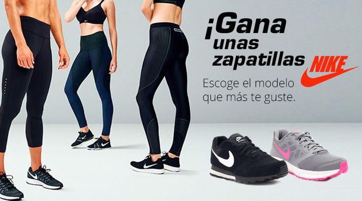 ¡Gana unas zapatillas Nike para hombre o mujer!