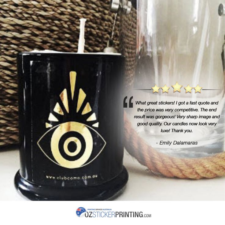 Your thoughts are important to us. Thank you @CLUB_COMO for your kind words. #happycustomer #feedback #positivereview #testimonial #ozstickerprinting