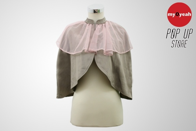 Cape Blazer - creme/ pink tule ~Hunting Fields~