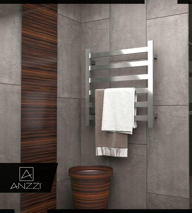 Towel Warmer - Safe, Reliable, and Energy Efficient - With a modern and minimalist design our towel warmer is safe, reliable, and energy efficient with a quick 20 minutes warm-up time. Click here to know more: http://www.homedepot.com/p/ANZZI-Note-6-Bar-Stainless-Steel-Wall-Mounted-Electric-Towel-Warmer-Rack-in-Polished-Chrome-TW-AZ023CH/206730249 #TowelWarmer #BathroomDecor #ElectricWarmer #TowelWarmers
