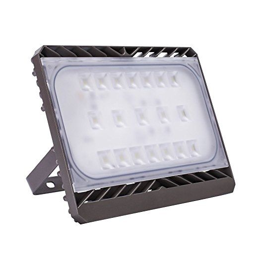 GOSUN® Super Bright 70W LED Floodlight, CREE SMD5050, IP65 Waterproof, 6300lm, Daylight White, Comes With UK plug, Outdoor Security Lights,36 Month Warranty