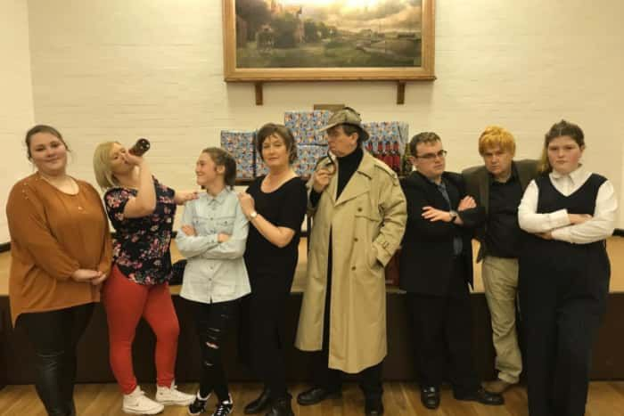 Harlequins Drama group are staging a murder mystery evening.