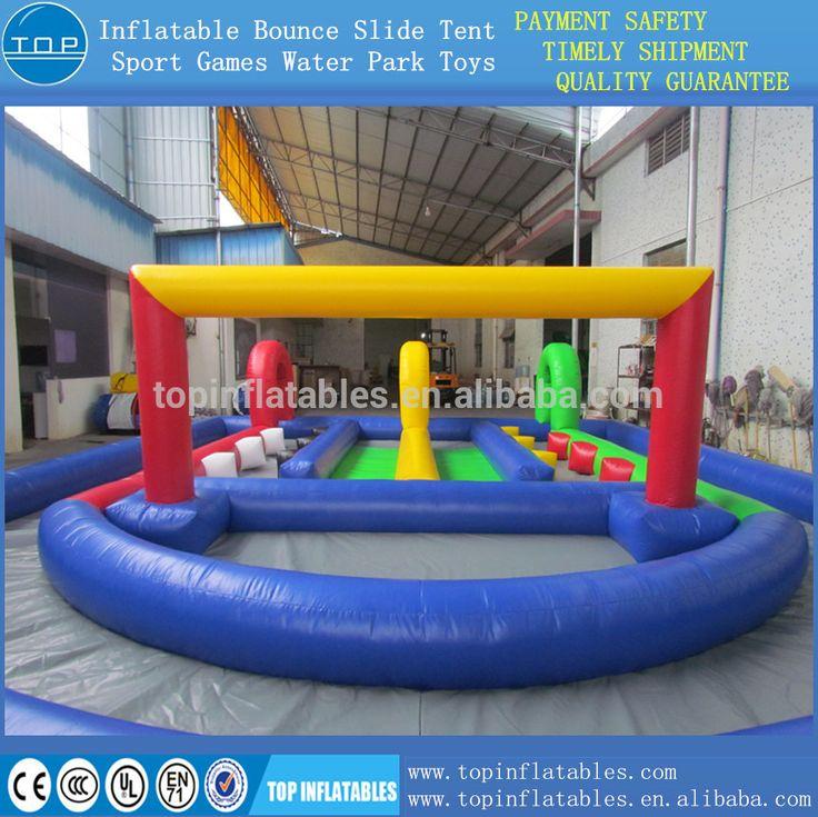 go cart track race games amusement park 0.55mm pvc excellent quality