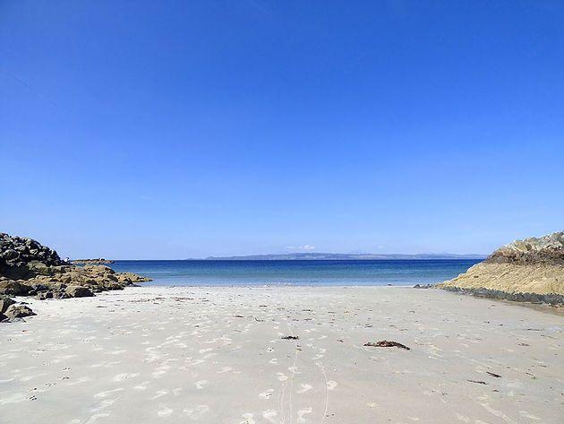 Camusdarach beach near Arisaig.Read my blog about Arisaig, Glenuig and Glenfinnan.