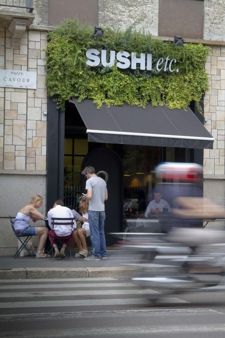 Sushi etc - Italy - #verticalgarden www.sundaritalia.com