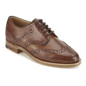 Knutsford by Tricker's Women's Leather Brogue Shoes - Beechnut: Image 41