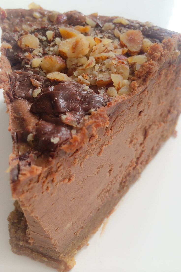 Nutella Hazelnut Cheesecake Recipe