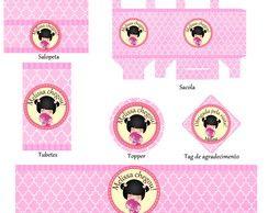 Kit Para Impressão - Kokeshi Bebê