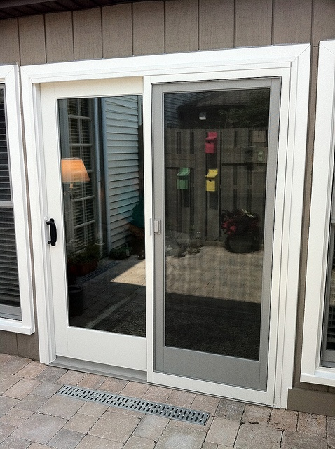 White Sliding Patio Doors By Renewal By Andersen Of