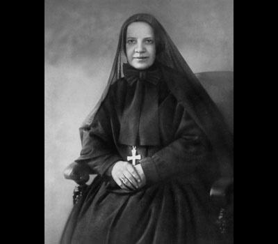 Mother Cabrini, friend and helper to Italian-American immigrants.