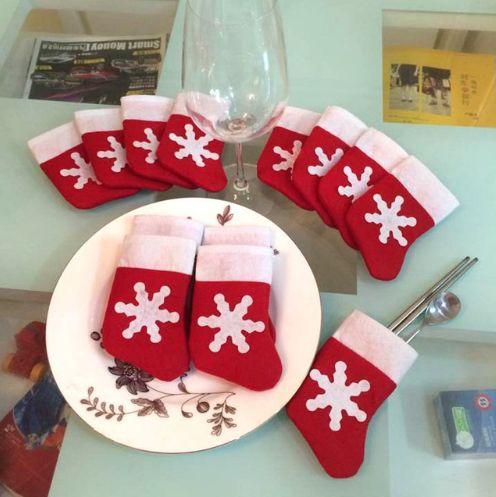 Украшение для новогоднего стола. Нашла здесь - http://ali.pub/9qx0w