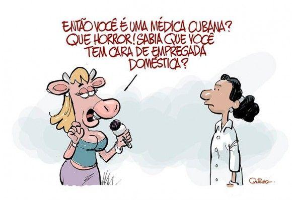 """Jornalista diz que Médicas Cubanas parecem """"Empregadas domésticas"""""""