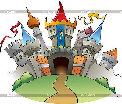 Средневековый замок | Векторный клипарт | ID 3507159