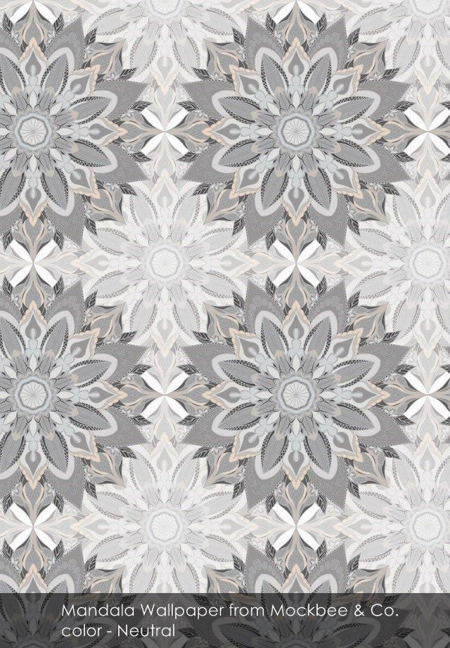 Mandala wallpaper from Mockbee