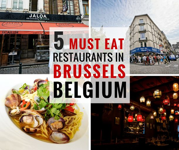 We offer you our suggestions for 5 places you MUST eat in Brussels and we guarantee none of them are on Grand Place or Rue du Buchers.