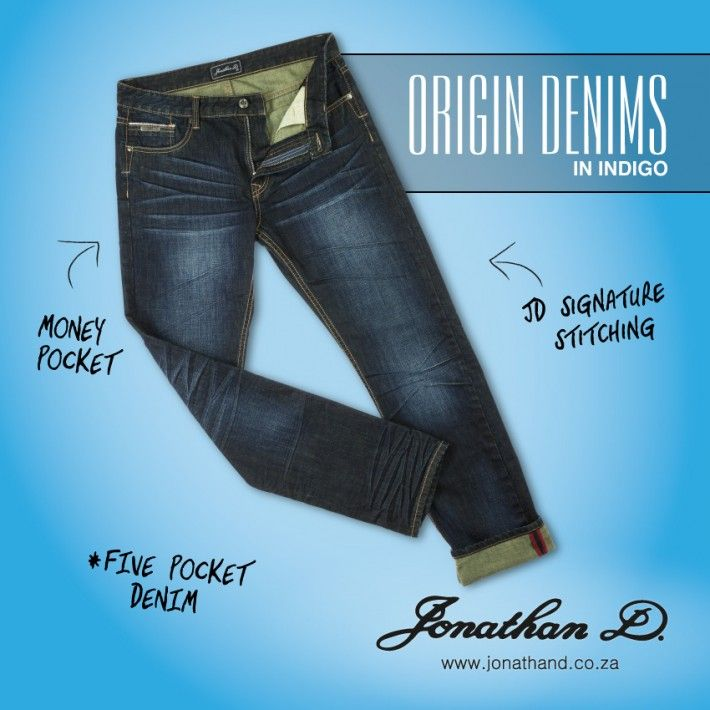 Back to basics with Jonathan D's Origin Denims. Made from a cotton fabrication, they feature slight creasing detailing with five pockets, branded tape and lightly abraded back patch pockets.