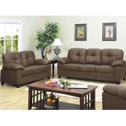 Found It At Wayfair   Marco Microfiber Sofa And Loveseat Set In Dark Brown