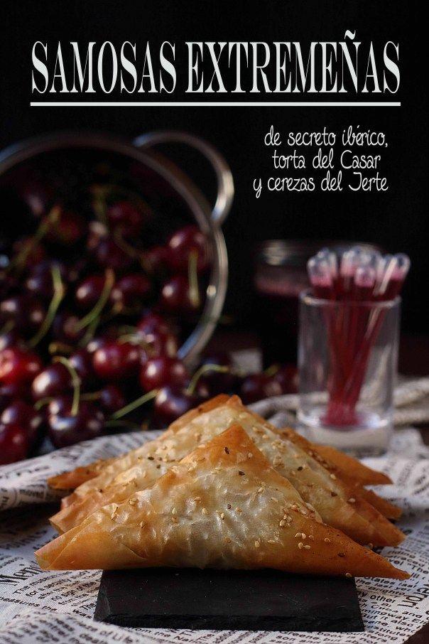 Samosas extremeñas {by Paula, Con las Zarpas en la Masa}