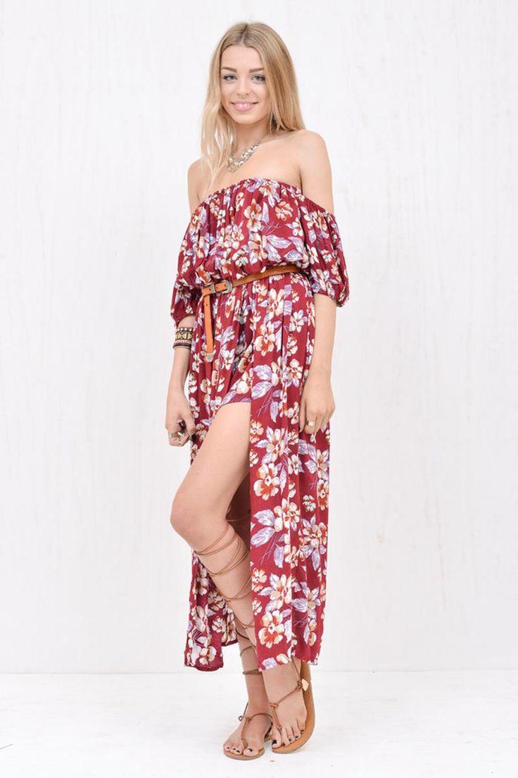 Morrisday Casanova Maxi Skort Dress