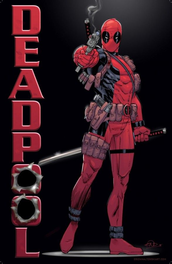 Deadpool by Eric Ninaltowski