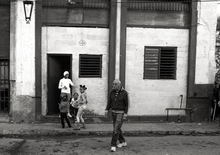 On the street in Havana -