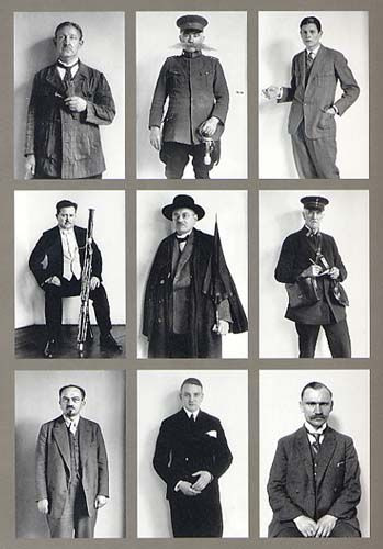 August Sander    Occupational portraits 1925-33