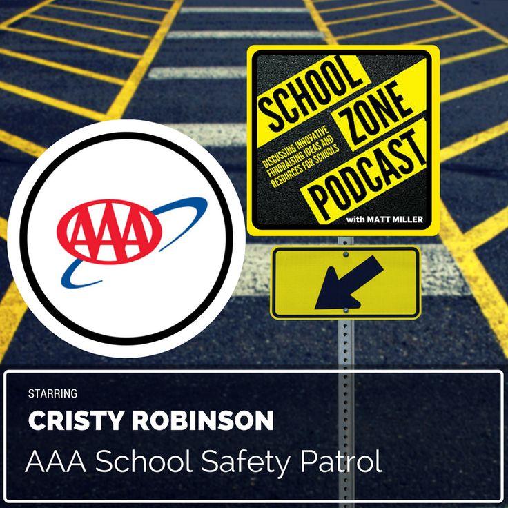 AAA School Safety Patrol with Cristy Robinson School