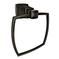 Boardwalk Towel Ring - Mediterranean Bronze