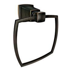 Boardwalk Towel Ring - Mediterranean Bronze