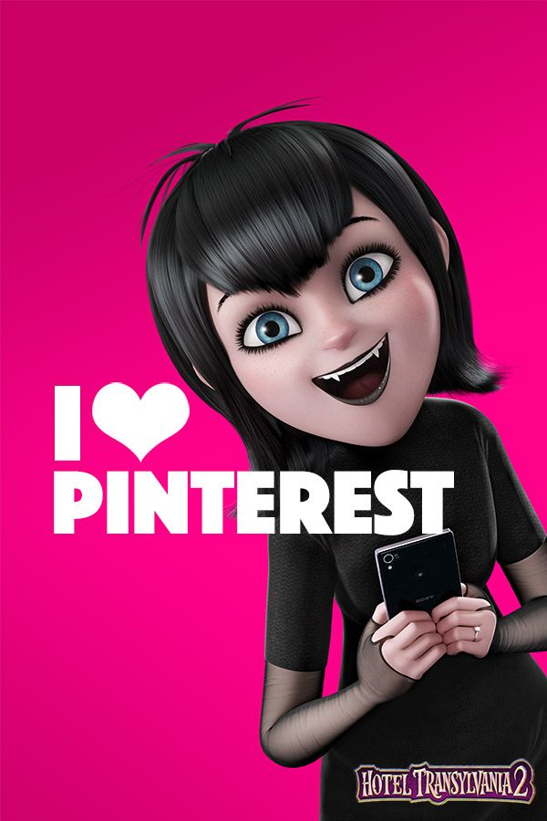And from what I can tell, YOU all love Pinterest too! Thanks for being so welcoming! #HotelT2 | Hotel Transylvania 2 in theaters Sept 25