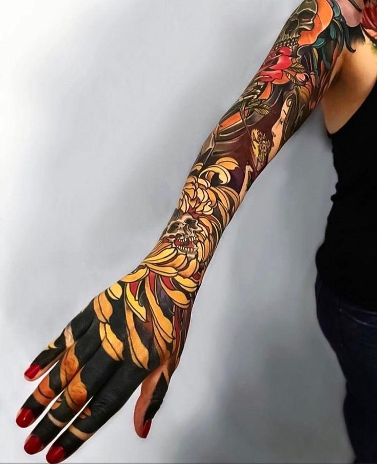Картинки татуировки красивые рукава