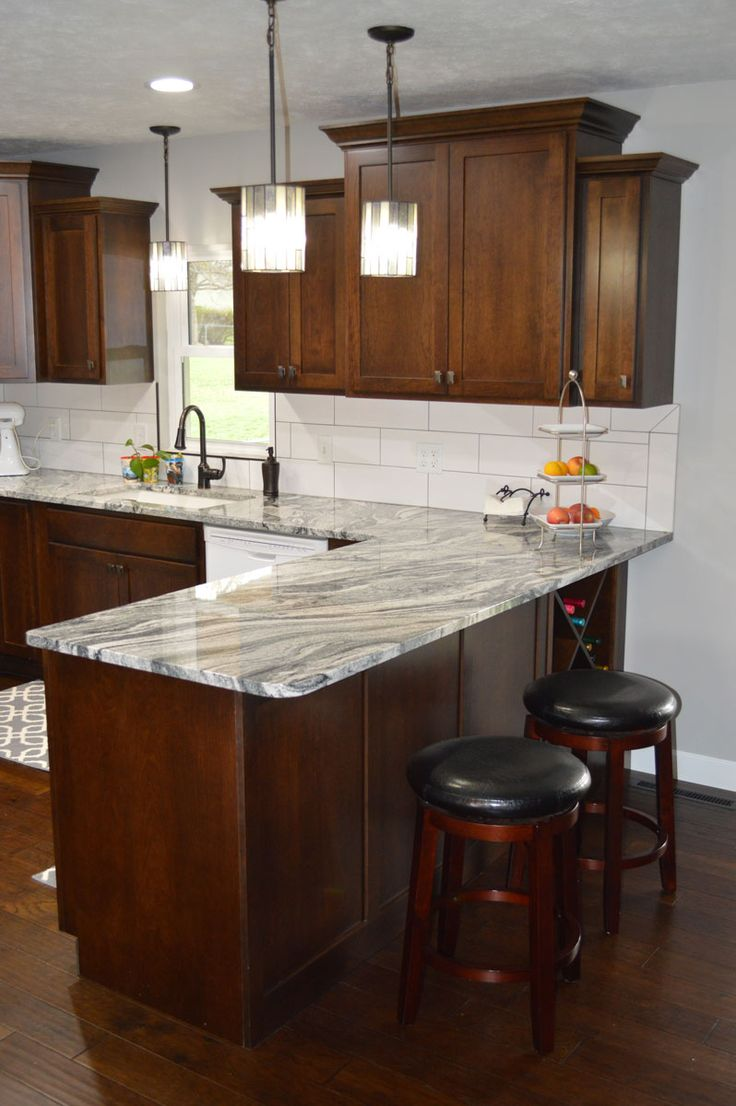 Shelley Hilker designed this kitchen with Fieldstone